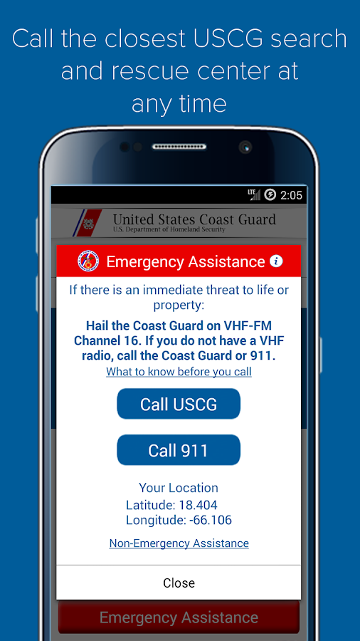 United States Coast Guard- screenshot