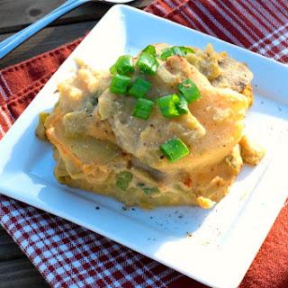 Vegan Scalloped Potatoes.