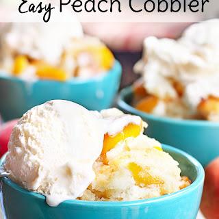 Easy Peach Cobbler