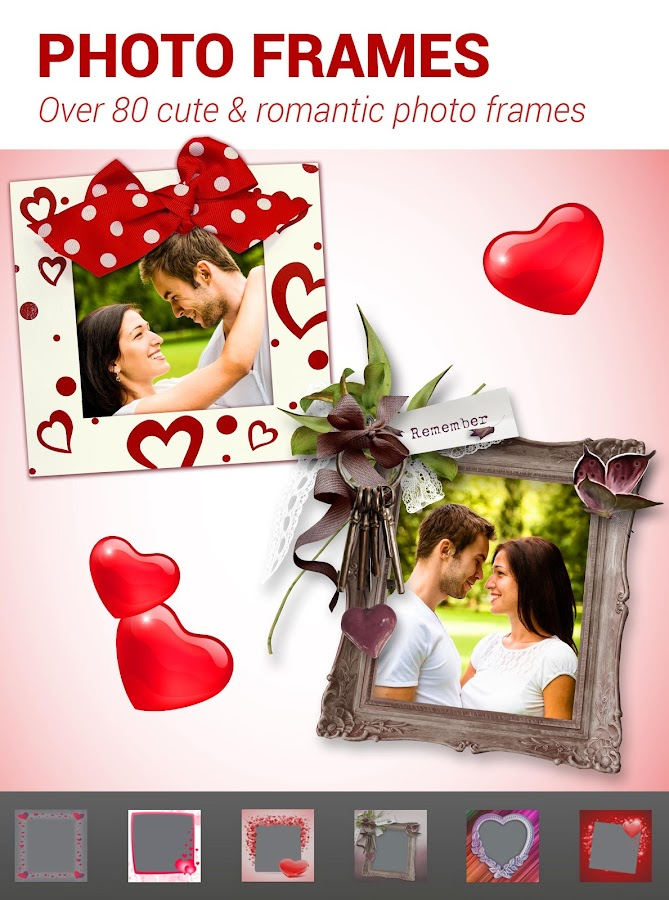 Screenshots of Love Collage - Photo Editor for iPhone