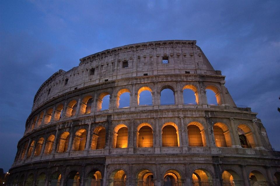 Colosseum, Rome, Italy, Roman, Architecture, Landmark
