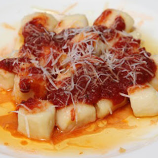Ricotta Gnocchi with Salsa della Nonna