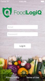 FoodLogiQ Connect - náhled
