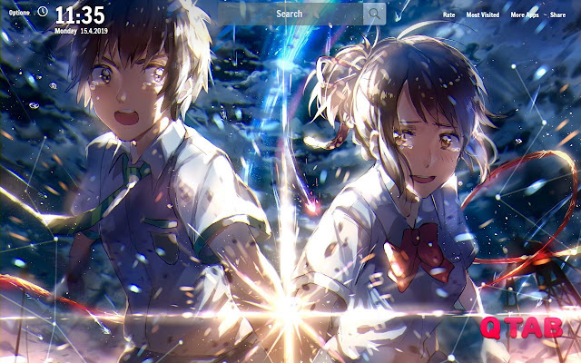 Your Name New Tab Your Name Wallpapers