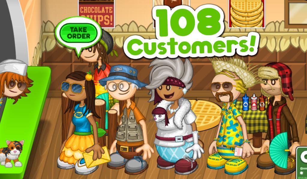 Papa 39 s pancakeria hd android apps on google play - Jeux de cuisine papa louie pancakeria ...