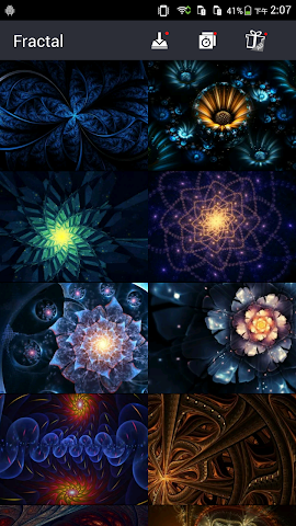android Cool Fractal Wallpapers Screenshot 2