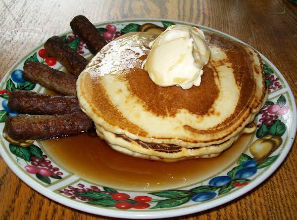 Na'na's Homemade Pancakes Recipe