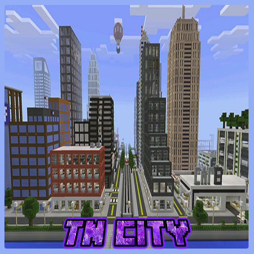 Map TN City for Minecraft PE