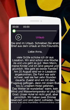 Deutsche Brief B2 Prüfung Audio Aplikacije V Googlu Play