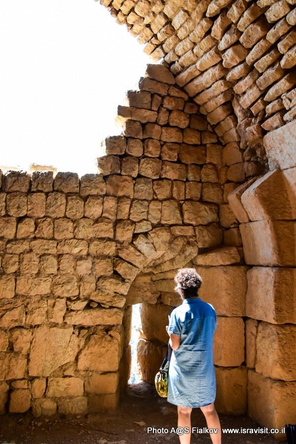 Достопримечательности Израиля. Экскурсия в крепость Нимрод.