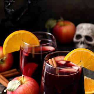 Red Apple Cider Sangria.