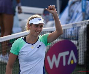 Elise Mertens plaatst zich probleemloos voor kwartfinale WTA Ostrava