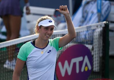 Mertens in drie sets voorbij tennisbabe en richting halve finale in Praag