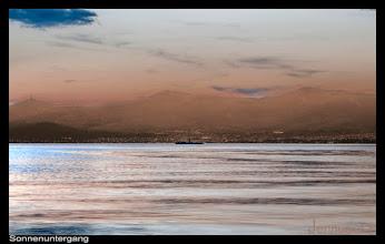 Photo: Sonnenuntergang an der Adria
