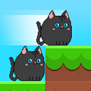Neko Tower : Fun Cat Race, Kitten Run, Square Cat [Mega Mod] APK Free Download