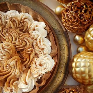 Gingerbread Latte Pie
