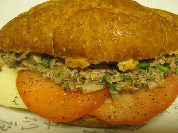 French-style Tuna Melt Recipe