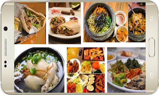 Korean Food Hot screenshot