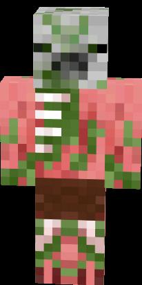 Baby Zombie Pigman Nova Skin