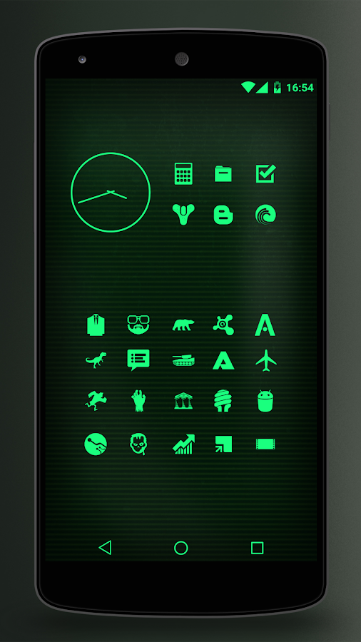 Pip-Tec Free - Nuclear Theme- screenshot