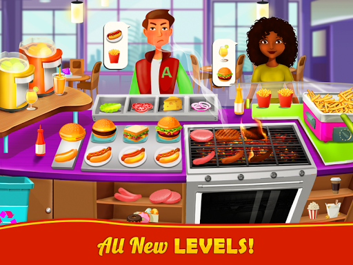 Food Court Cooking - Fast Food Mall Fever 1.8 screenshots 3