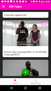 Sex eLimu Sign Language Screenshot