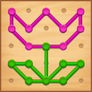 Line Puzzle: Color String Art