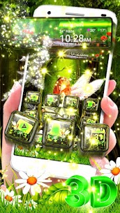 Beautiful Green Forest Fairy Theme 1.1.3 Download Mod Apk 1