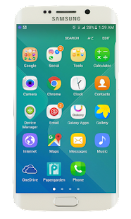 Samsung Galaxy S8 launcher - náhled