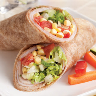 Healthy Turkey Wraps Recipe for Diabetics