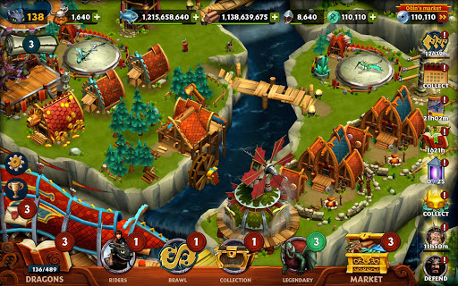 Dragons: Rise of Berk screenshot 20