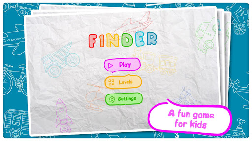 Kids games - Finder