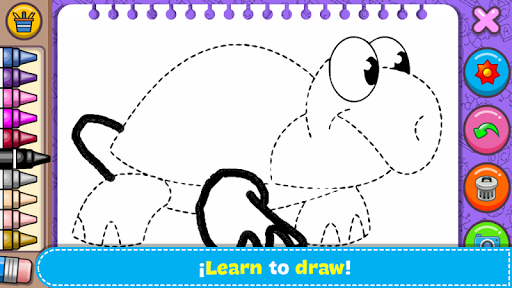 Coloring & Learn Animals - Kids Games screenshots 4