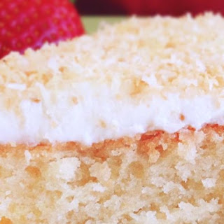 Gluten-Free Coconut Cake.