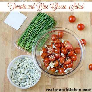 Tomato and Blue Cheese Salad