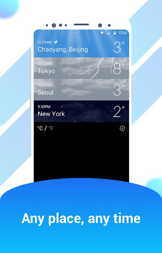 iWeather - OS style weather report Apk 2