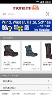 monamikids Kinderschuhe- screenshot thumbnail