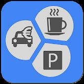 Benzieneprijzen & parkeerhulp