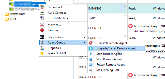 Install Remote Agent