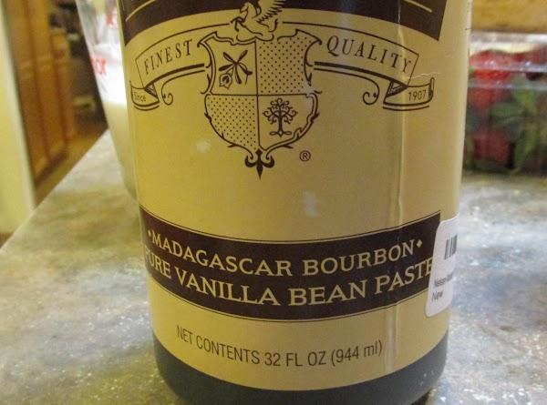 Stir in 1 tablespoon of  Vanilla Bean Paste OR Vanilla Extract, then stir...