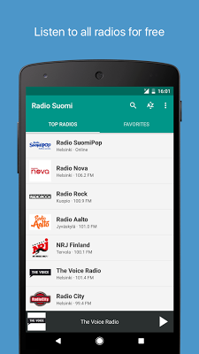 Radio Suomi FM - screenshot