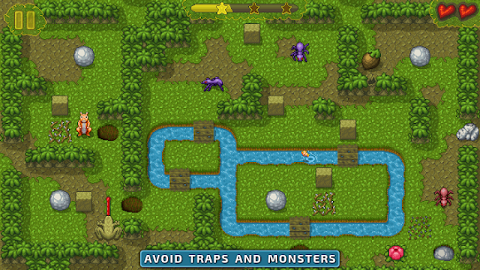 Chipmunk's Adventures MOD APK [Unlimites Tips And Seeds] 2