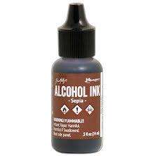 Tim Holtz Alcohol Ink 14ml - Sepia