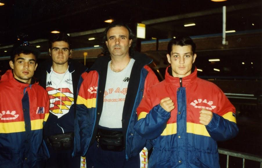Con la Selección Española.