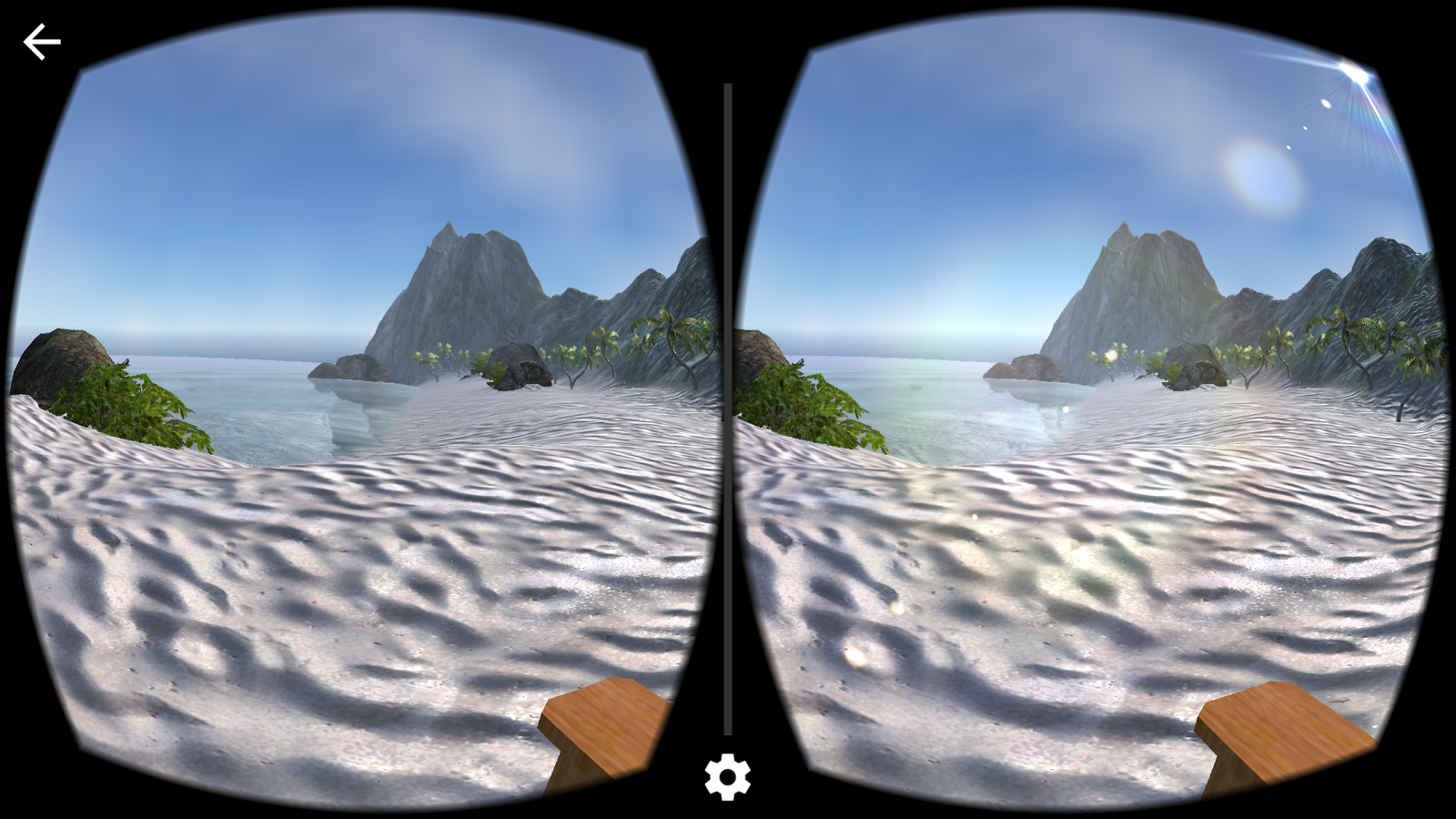 Beach Meditation VR Experience- screenshot