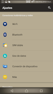 Lollipop Retro : Xperia Theme Screenshot