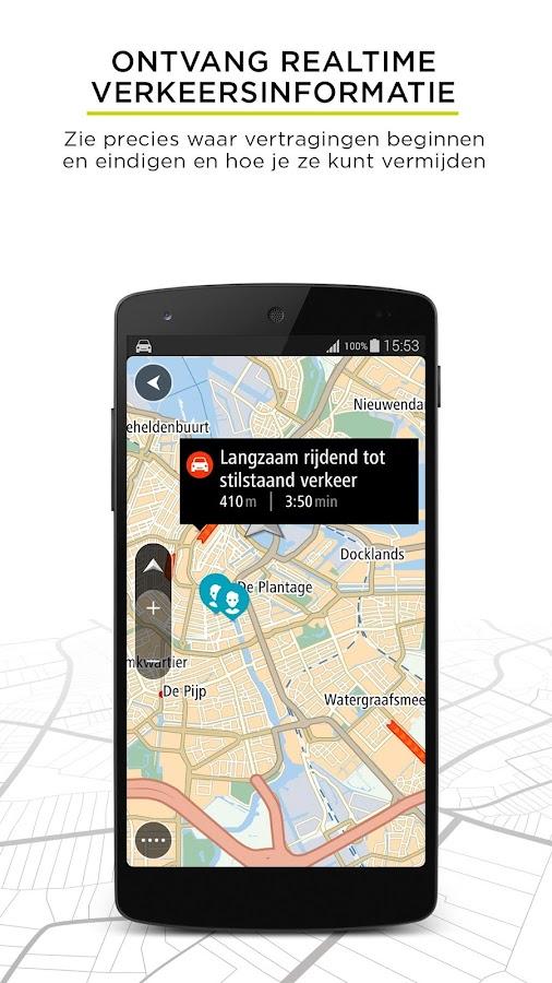 tomtom go mobile gps traffic android apps op google play. Black Bedroom Furniture Sets. Home Design Ideas