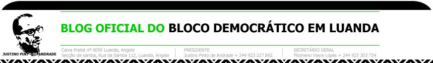 Bloco Democratico Luanda - Blog Oficial
