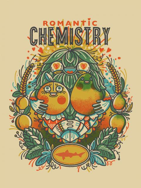 Logo of Dogfish Head Romantic Chemistry