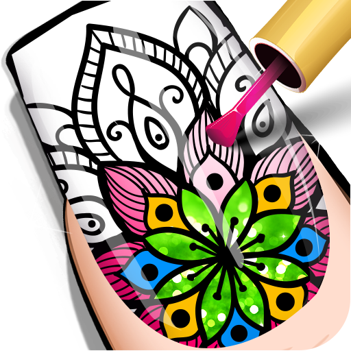 Nail Coloring Book
